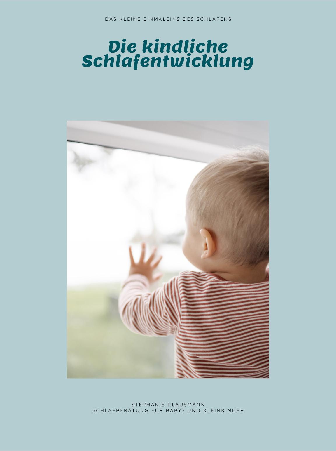 E-Book über die kindliche Schlafentwicklung von Stephanie Klausmann